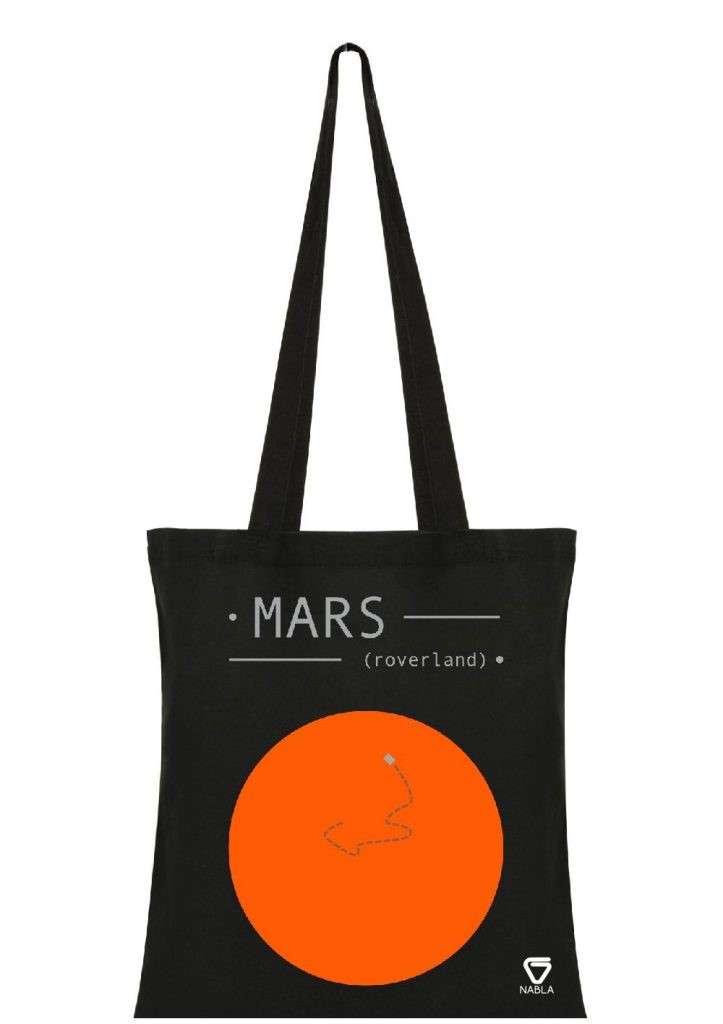 Bolsa Mars Roverland
