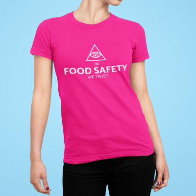 In food safety we Trust (by @gram_positivo)