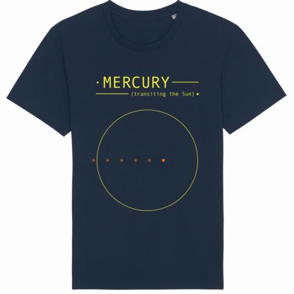 Mercury transiting the Sun (Chico)