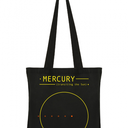 Mercury transiting the Sun (by @HdAnchiano)