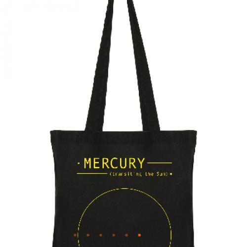 Mercury transiting the Sun (by @HdAnchiano)