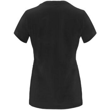 Camiseta de mujer por detrás