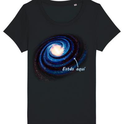 Puntito en la Vía Láctea